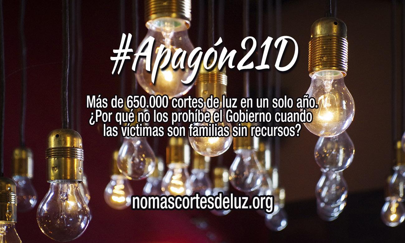 Más de 650.000 cortes de luz en un solo año. ¿Por qué no los prohíbe el Gobierno cuando las víctimas son familias sin recursos?
