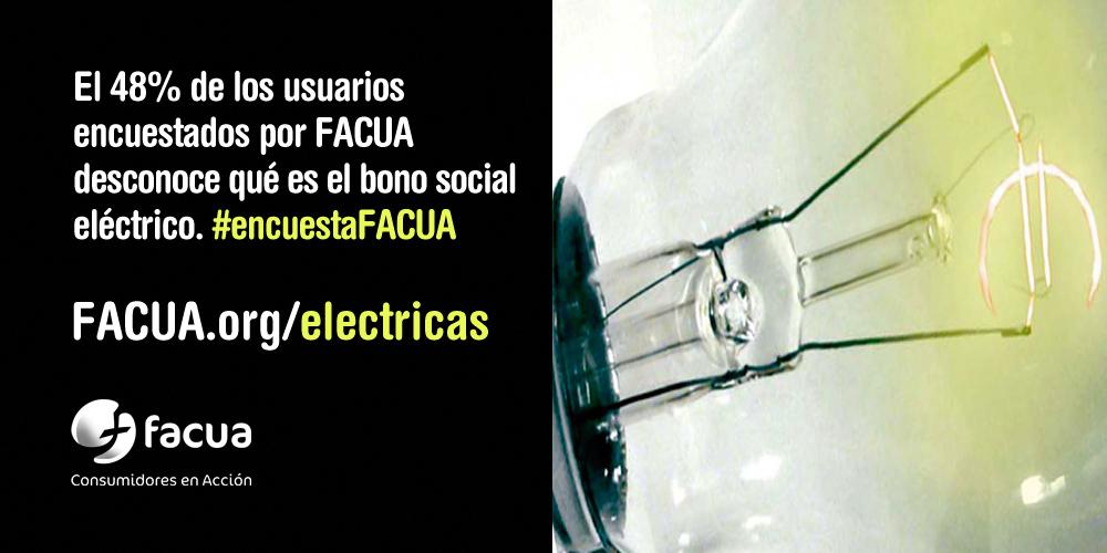 �Alguien se f�a de las el�ctricas? #encuestaFACUA