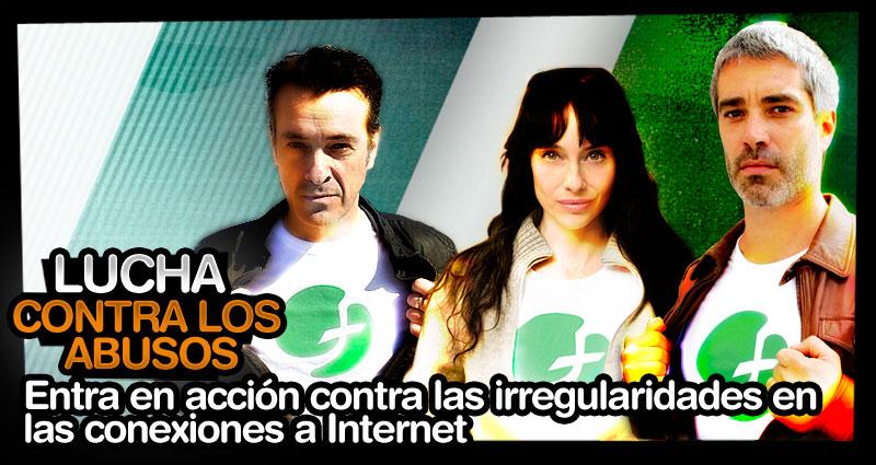 Lucha contra las irregularidades en las conexiones a internet
