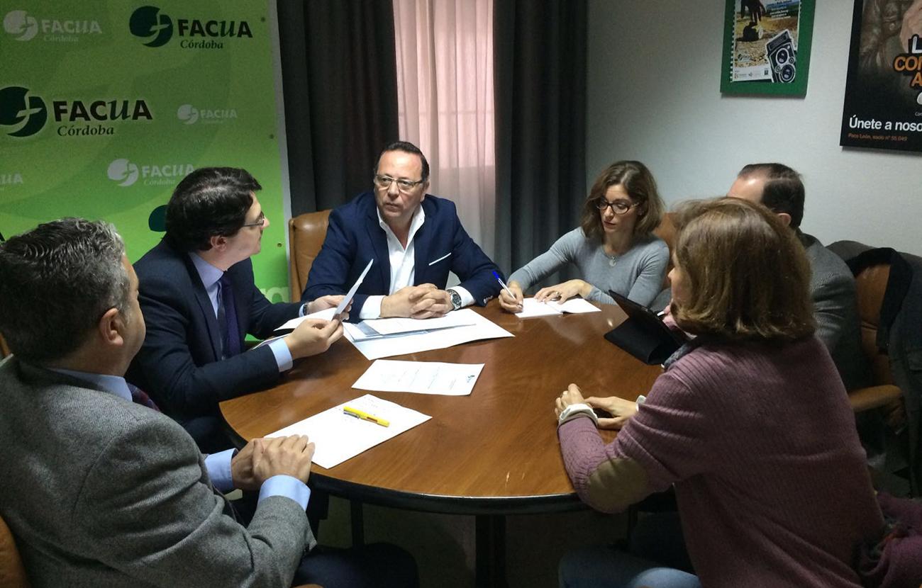 FACUA Córdoba reitera a los grupos municipales su exigencia de participar en la mesa de trabajo de Emacsa