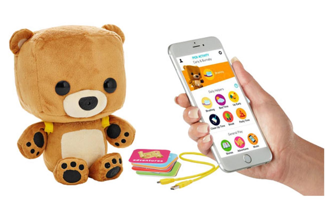 Un informe revela que el oso de peluche inteligente Fisher Price deja al descubierto los datos recogidos