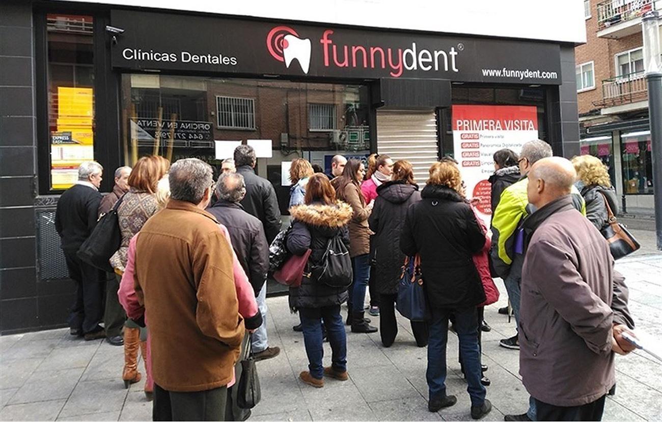Un centro de Funnydent en la Comunidad de Madrid operaba sin licencia