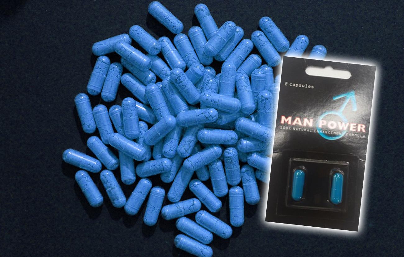 El estimulante sexual Man Power, prohibido por contener sustancias farmacológicas sin autorización