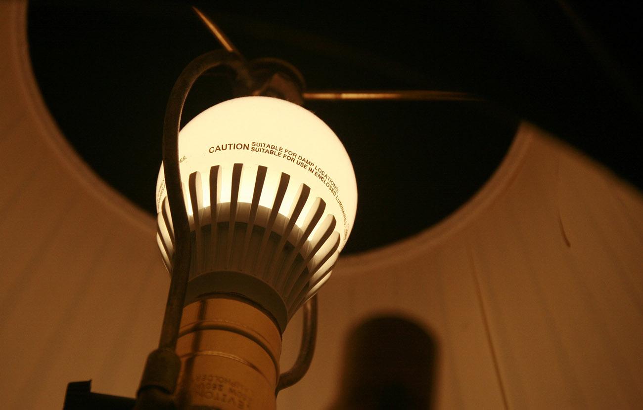 El recibo de la luz del usuario medio bajó un 8,0% en febrero
