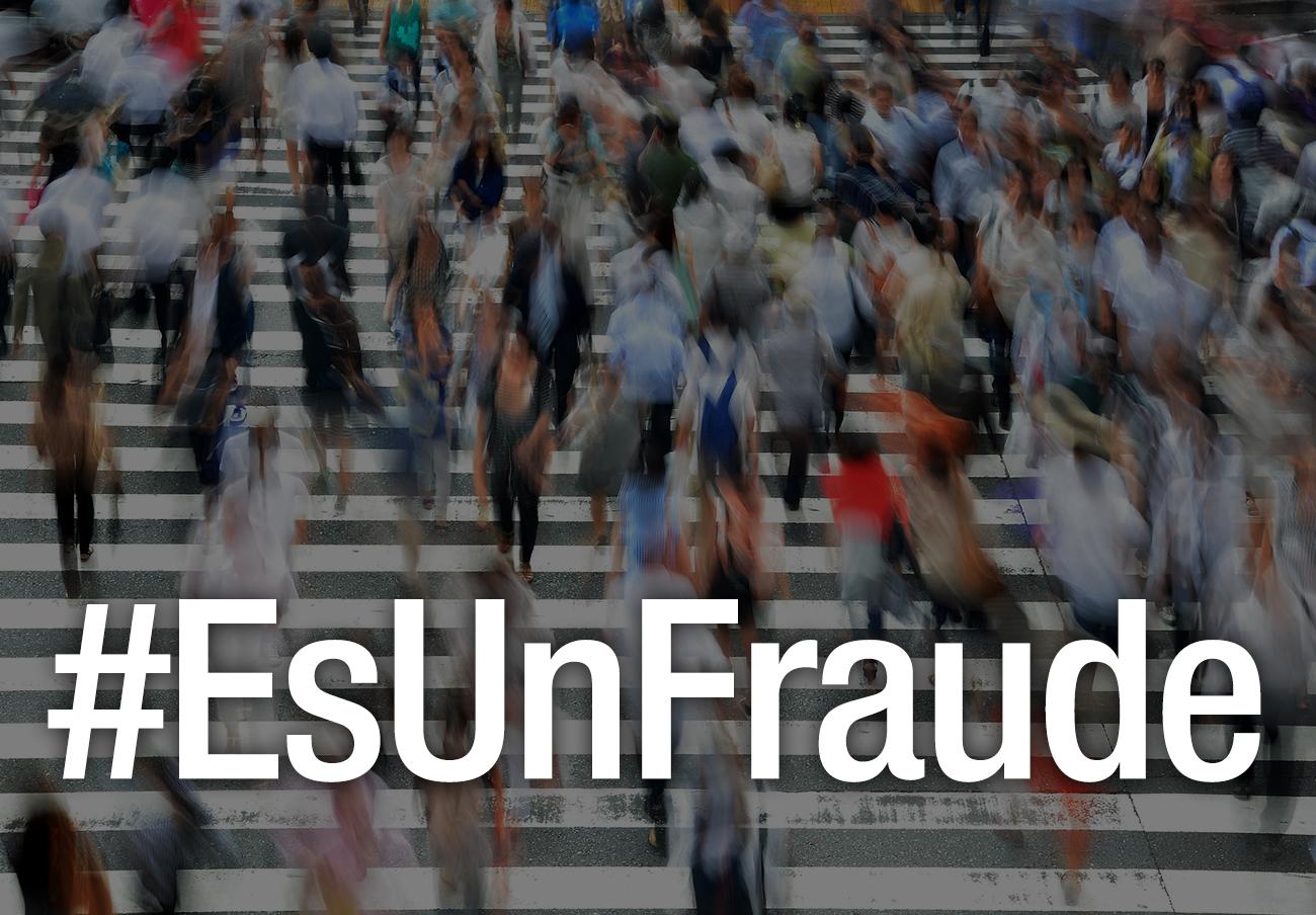 El 'hashtag' #EsUnFraude, lanzado por @facua el 15 de marzo, tercer trending topic nacional en Twitter