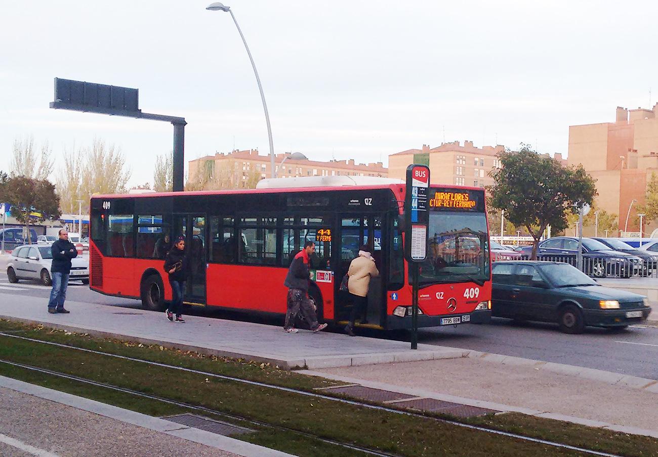 FACUA reclama al Ayuntamiento de Zaragoza que garantice los servicios mínimos de los autobuses