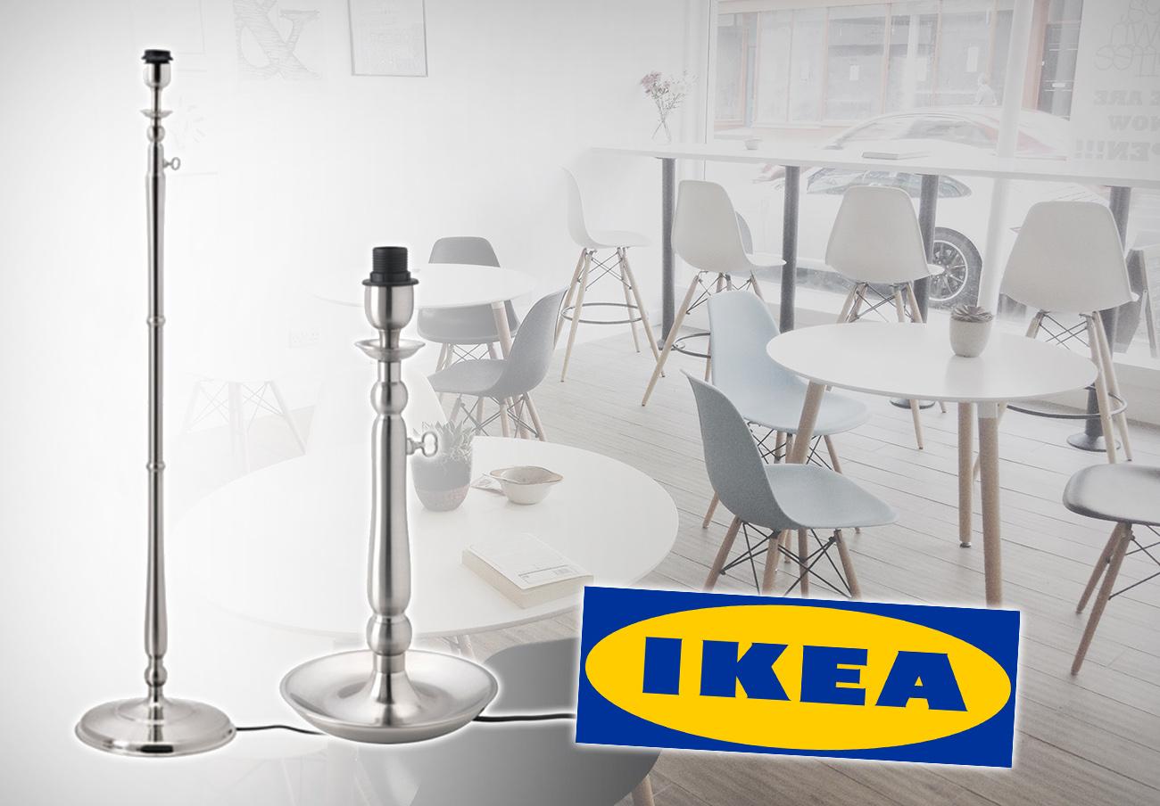 Ikea retira del mercado una de sus lámparas por riesgo de descarga eléctrica