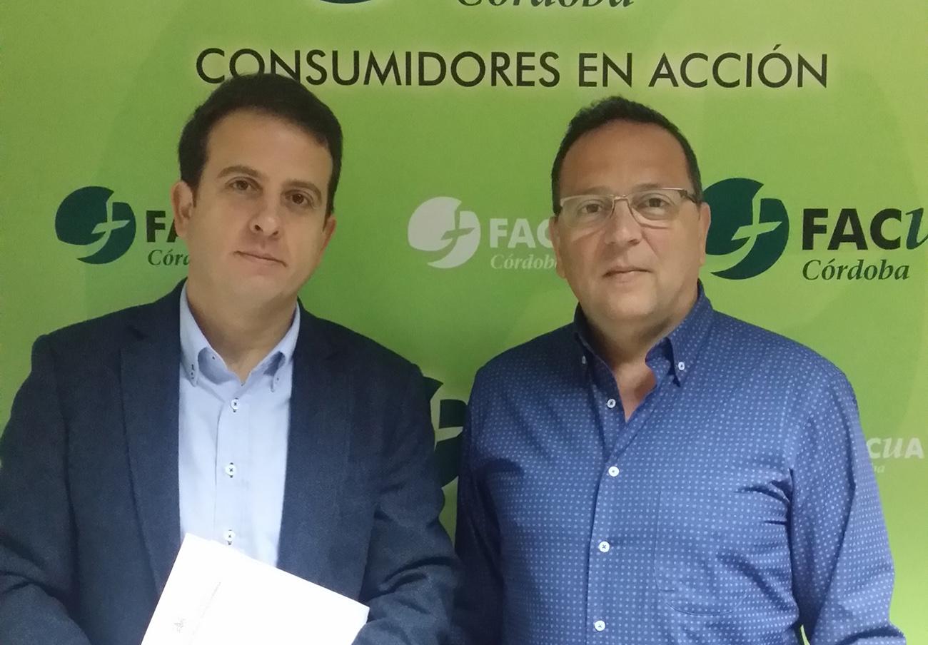 FACUA Córdoba se reúne con UCOR para tratar su participación en la mesa de trabajo de Emacsa