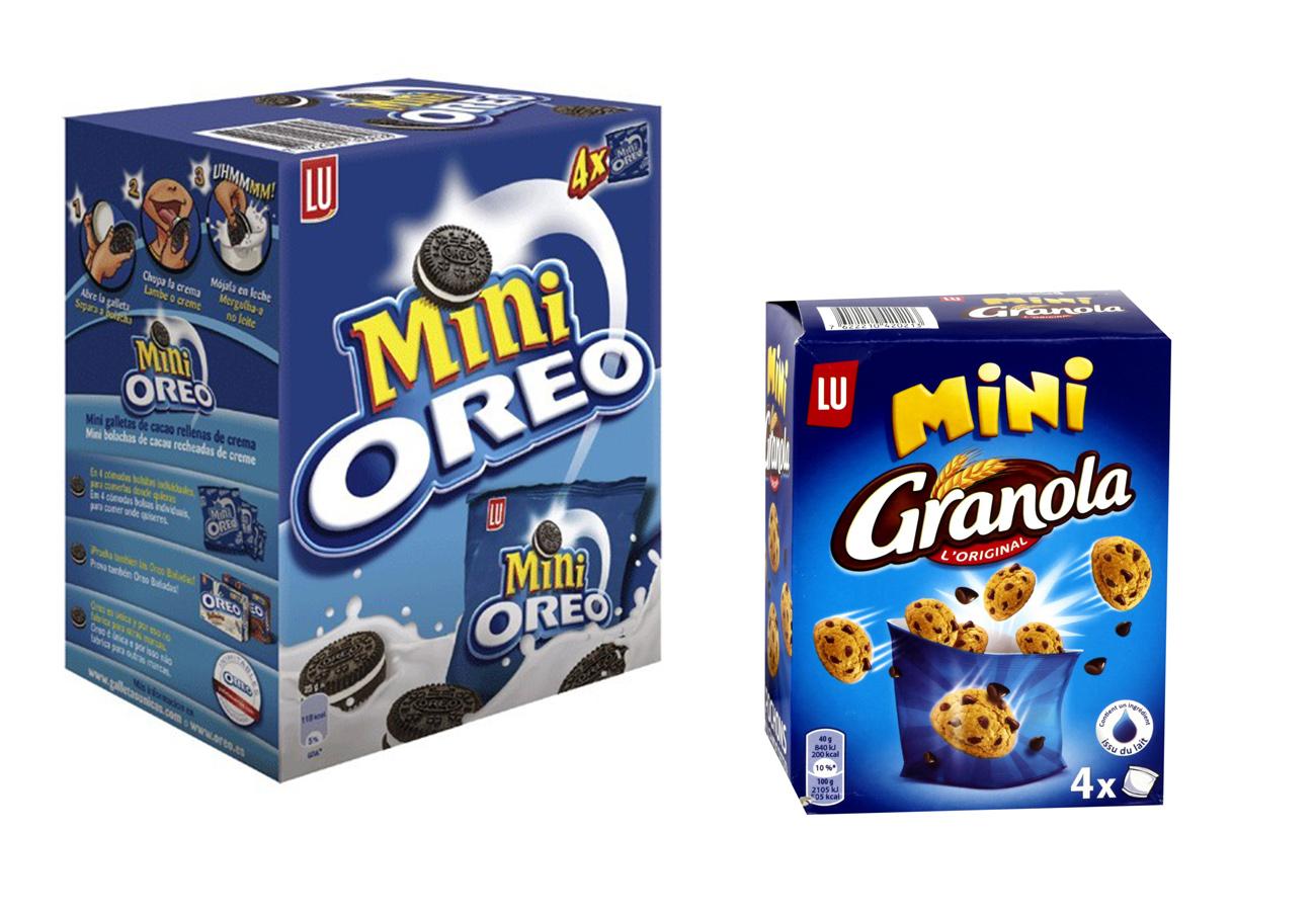 FACUA alerta de la retirada de unas galletas Mini Granola envasadas erróneamente como Mini Oreo