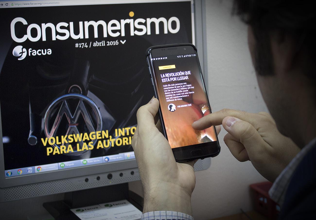 Consumerismo, la revista de FACUA, dice adiós al papel y renace en formato digital