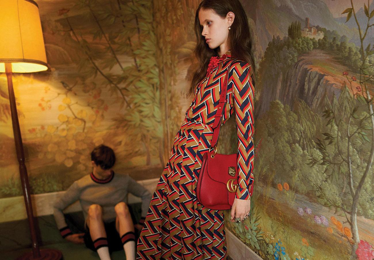 """Reino Unido prohíbe un anuncio de Gucci que exhibe a una modelo """"enfermizamente delgada"""""""
