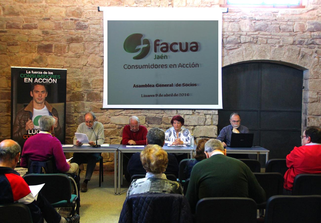 FACUA Jaén celebra su Asamblea General de Socios