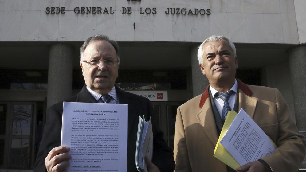El juez Pedraz ordena prisión incondicional para Luis Pineda y Miguel Bernad