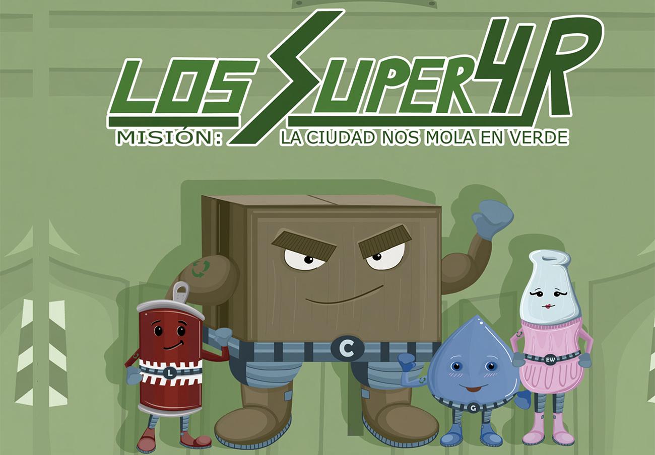 FACUA Córdoba presenta su segunda obra infantil 'Los Súper 4R' con motivo de la Feria del Libro