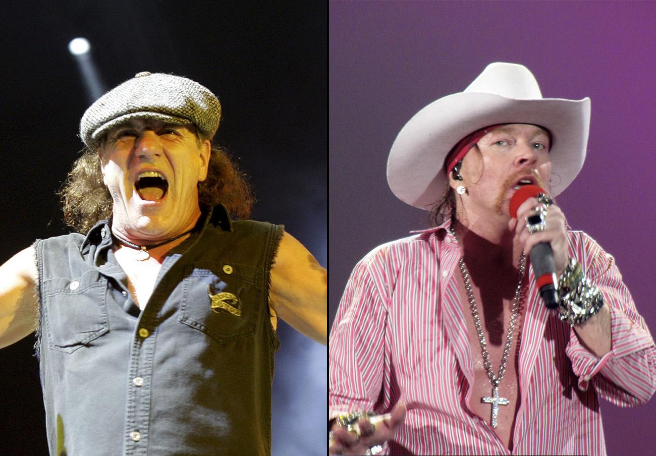 Los fans de AC/DC tienen derecho a reclamar el dinero de las entradas tras el cambio de vocalista