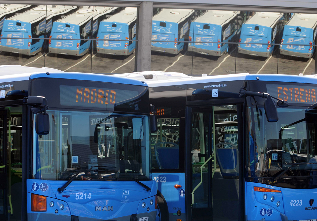 FACUA Madrid valora positivamente la decisión de la capital de que los autobuses urbanos sean eléctricos
