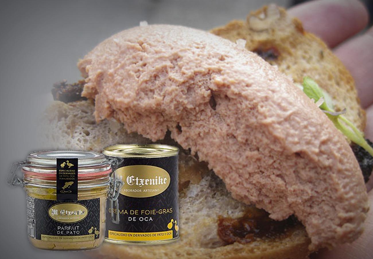 FACUA alerta sobre la presencia de gluten no declarado en mouse de pato y otros productos de Etxenike