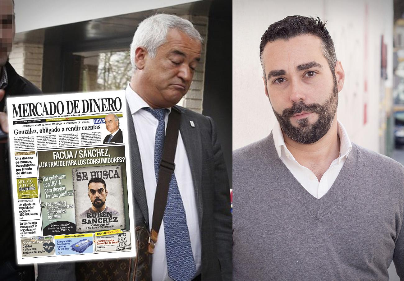 Luis Pineda condenado a indemnizar con 80.000 euros a Rubén Sánchez tras empapelar las calles con su cara