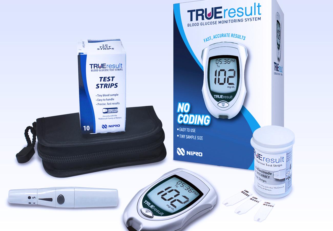 Orden de retirada de varios lotes de tiras reactivas para medir glucosa en sangre TRUEresult