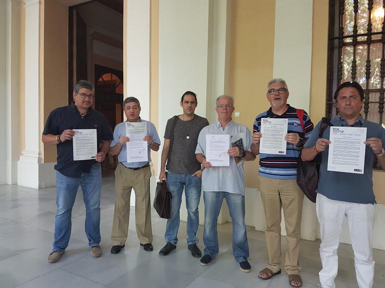 La Plataforma Sevilla No al TTIP pide al Ayuntamiento de Sevilla que firme la Declaración de Barcelona