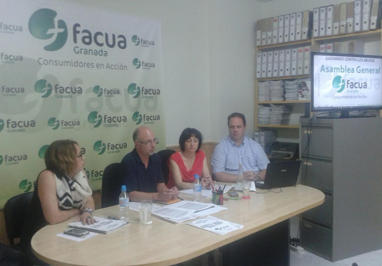FACUA Granada celebra su Asamblea General de Socios
