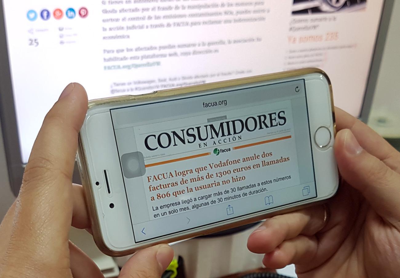 'Consumidores en Acción', el newsletter diario de FACUA, alcanza su número 2.000