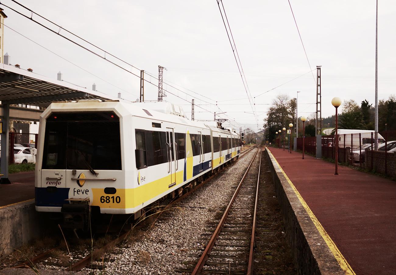 FACUA pide a Fomento medidas para solucionar los problemas de los trenes de cercanías Feve en Asturias