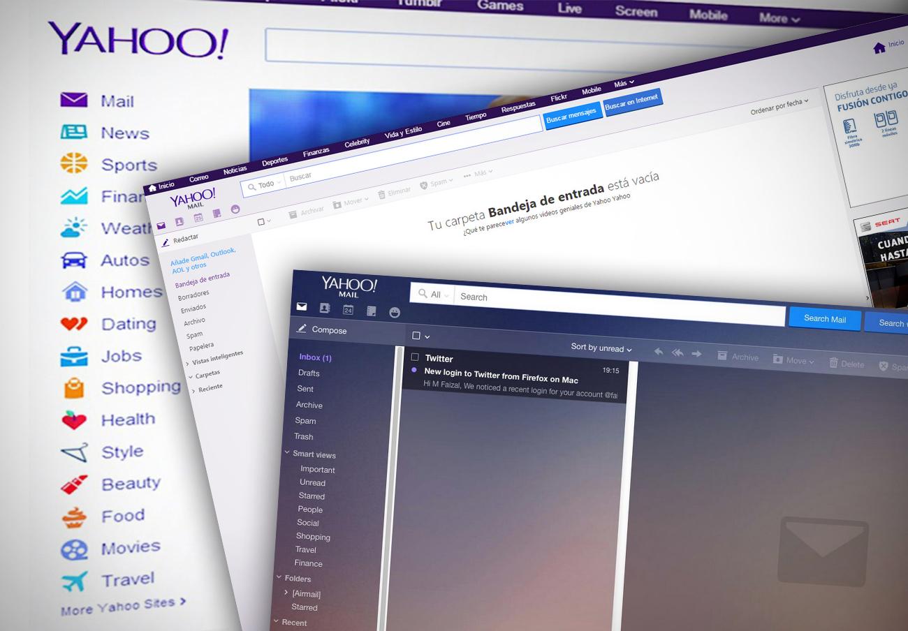 Yahoo admite el robo de datos de más de mil millones de usuarios