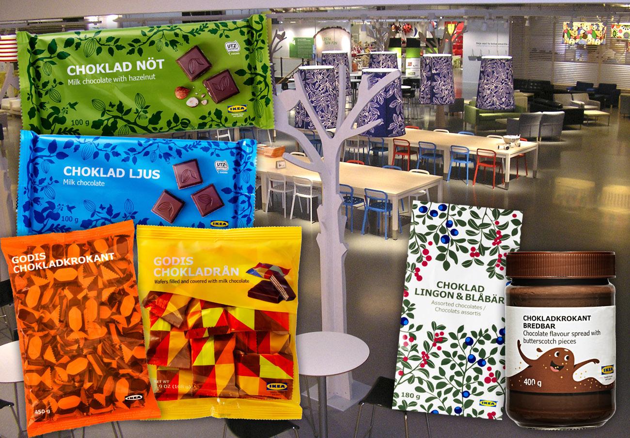 Ikea retira del mercado otros seis chocolates por resultar peligrosos para alérgicos