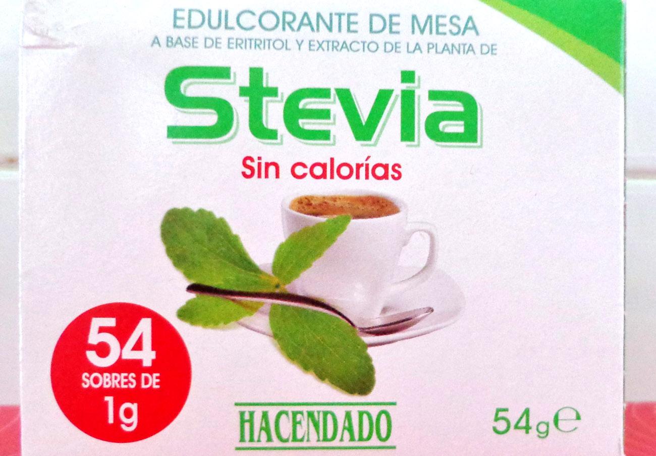 Hacendado publicita de forma engañosa su producto con stevia.