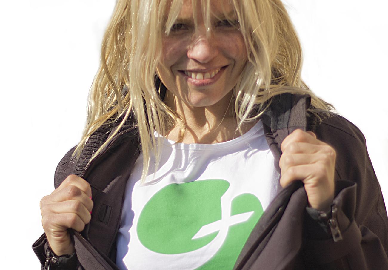 La actriz considera que hace falta aún mucha concienciación ecologista y animalista.