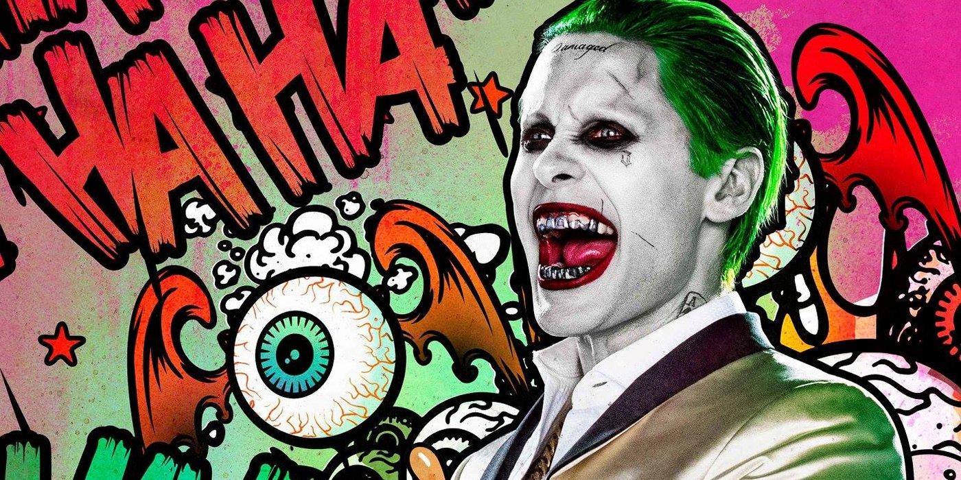 Una de las imágenes promocionales del Joker en Escuadrón Suicida. | Imagen: Warner Bros y DC Comics.