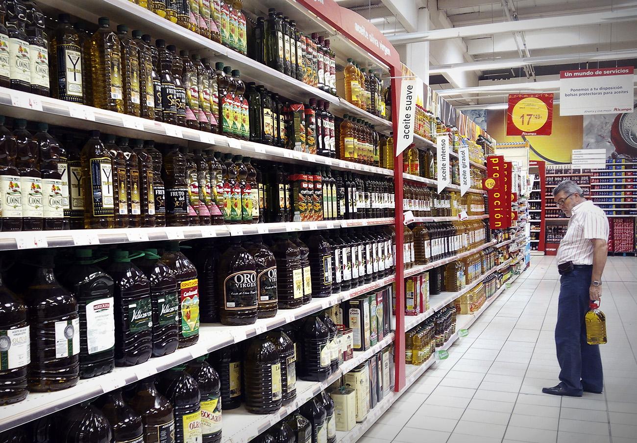 FACUA detecta diferencias de hasta el 126% en los precios del aceite de oliva