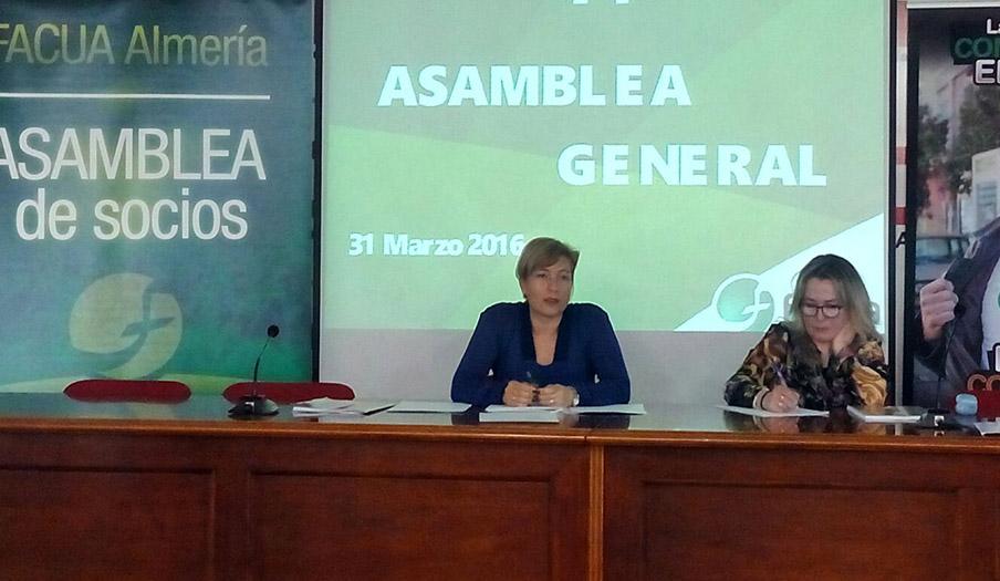 FACUA Almería celebra su 14ª Asamblea General de Socios