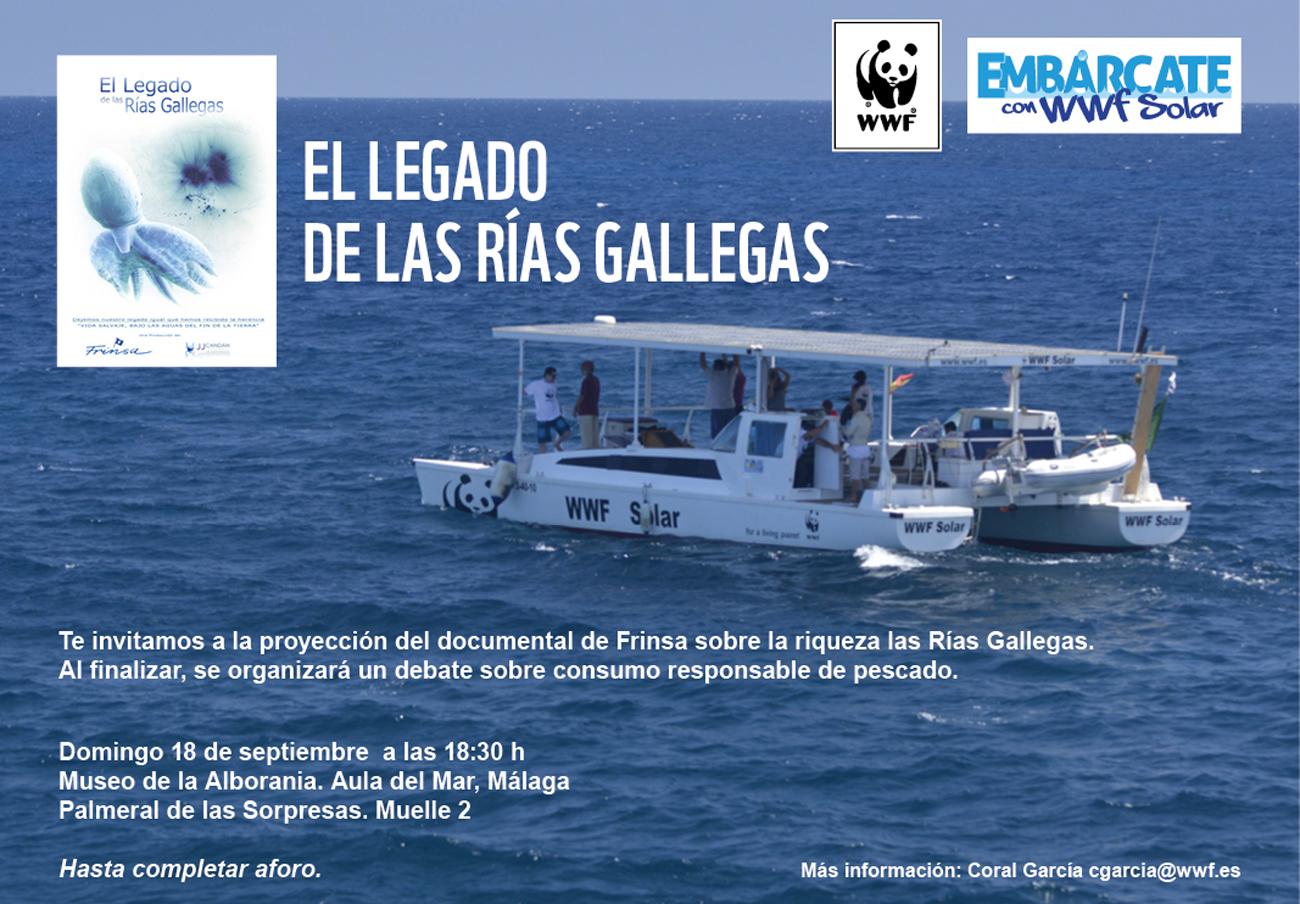 FACUA Málaga participa en la campaña Fish Forward de WWF sobre consumo responsable de pescado
