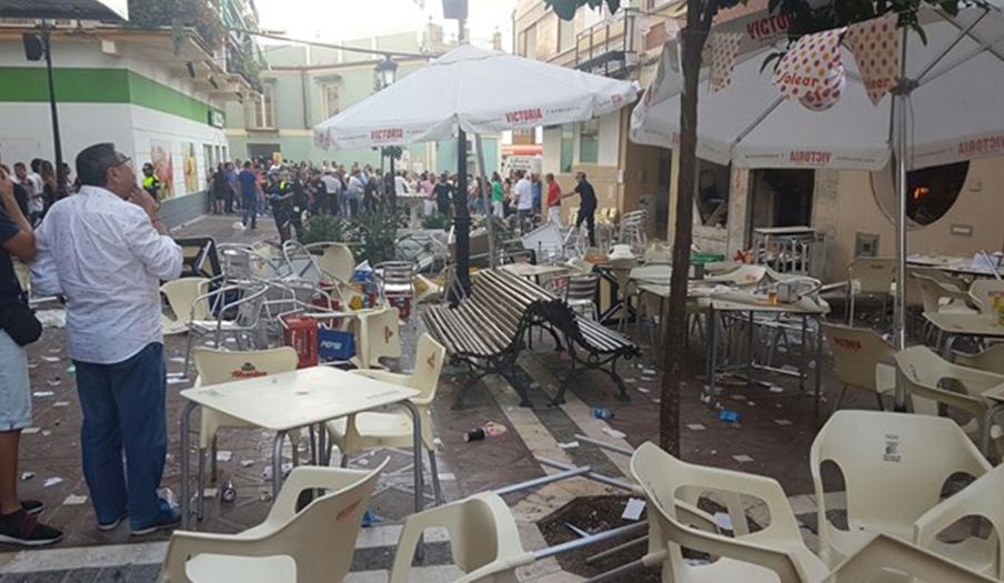 La cocina que sufri� una explosi�n de gas en V�lez-M�laga estaba sin licencia de apertura desde 2013