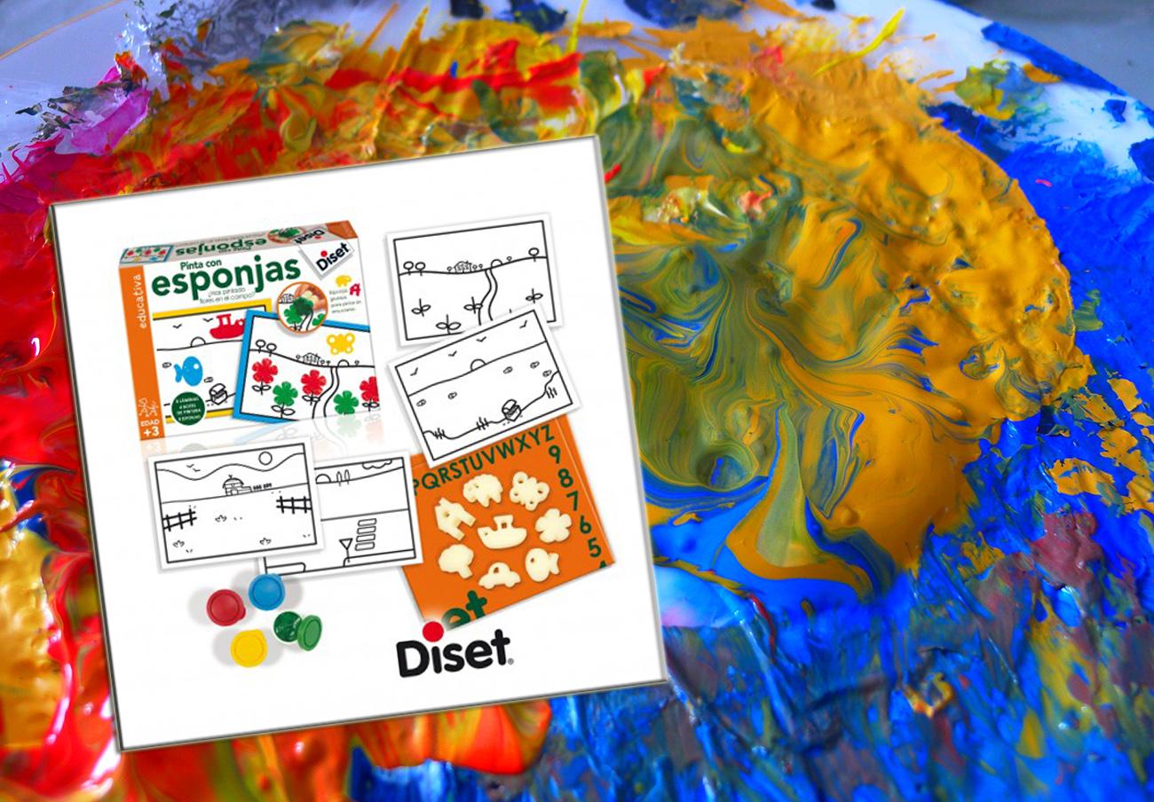 FACUA informa de la retirada de varios lotes de pintura con esponjas de la marca Diset