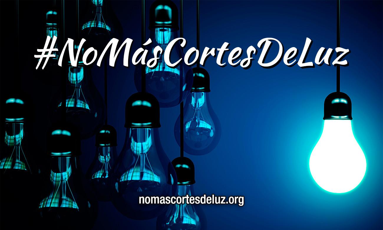 Más de 10.000 personas han firmado ya el manifiesto #NoMásCortesDeLuz