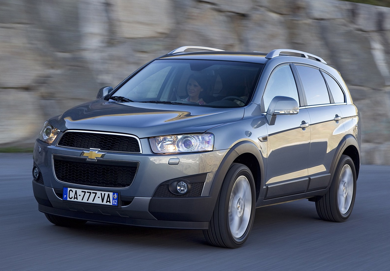 FACUA alerta de la llamada a revisión de los Chevrolet Captiva por un problema en el sistema de arranque