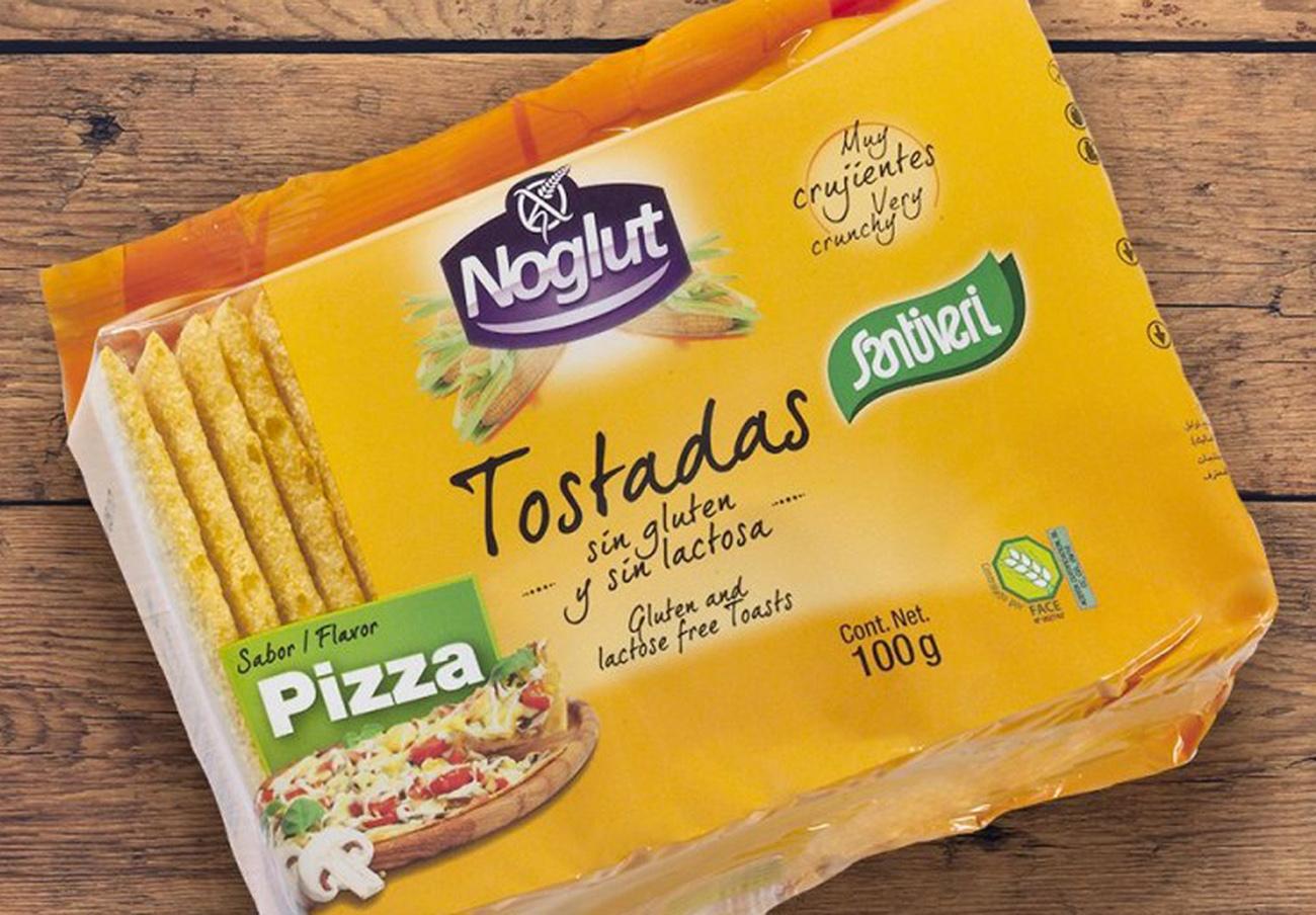 FACUA informa de la presencia de soja no declarada en un lote de tostadas Noglut de Santiveri