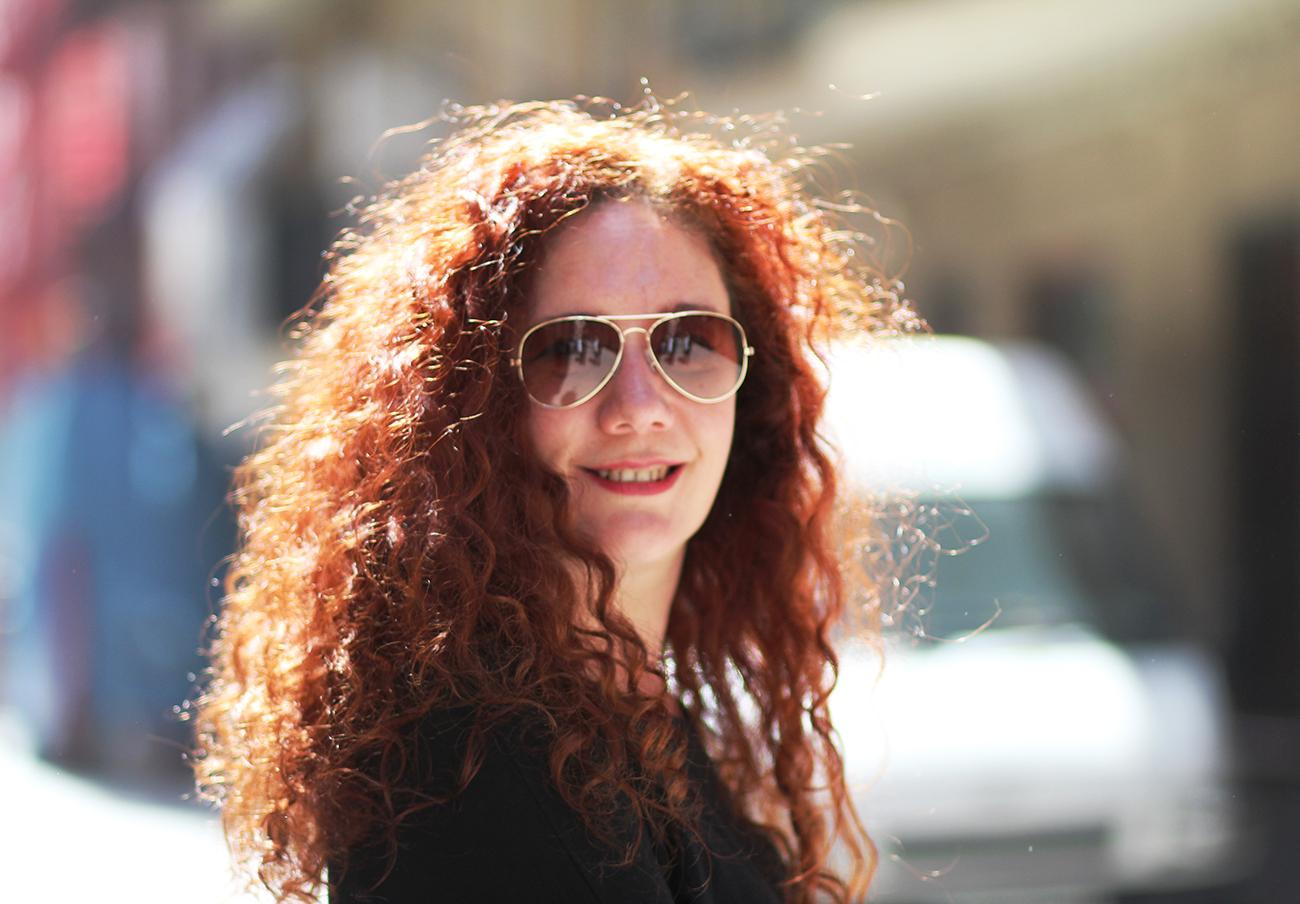 La directora de Diario 16 recibe constantes insultos y amenazas por declararse feminista. | Imagen: Óscar García.