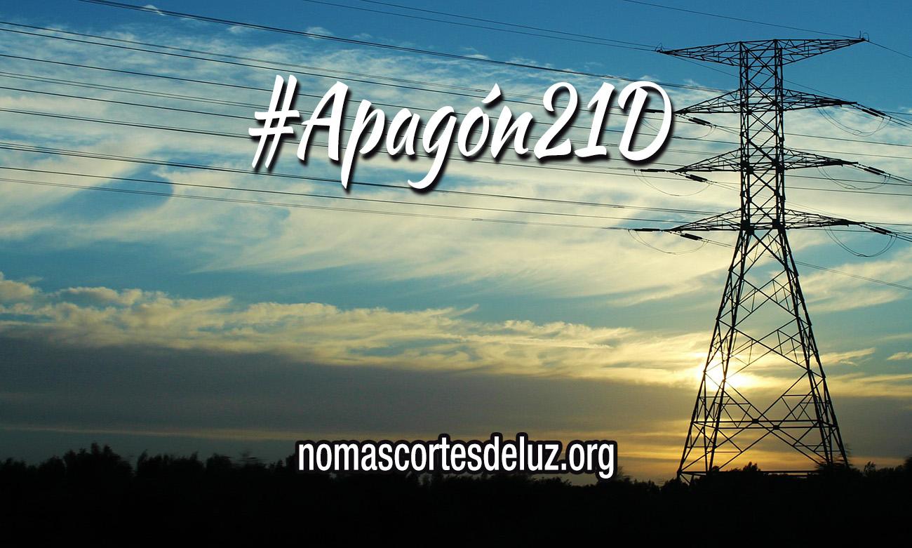 Registran peticiones de apoyo al #Apagón21D en ayuntamientos, diputaciones y parlamentos autonómicos