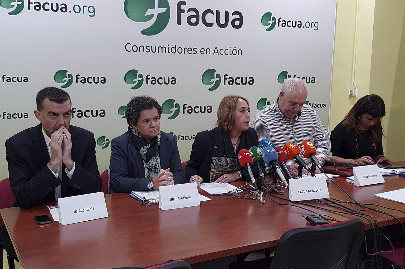 Convocadas 12 concentraciones en Andalucía contra los cortes de luz y los abusos eléctricos #Apagón21D