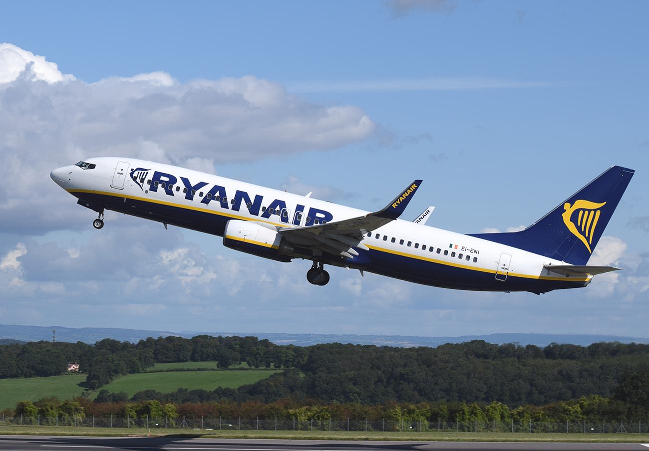 Ryanair es la compañía aérea peor valorada por los pasajeros encuestados por FACUA