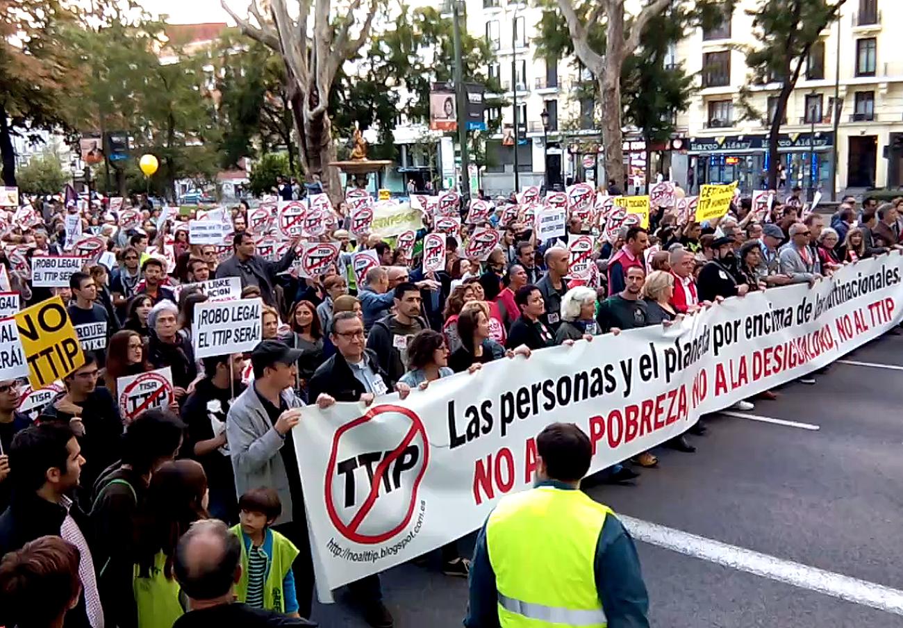 La Plataforma Sevilla contra el TTIP invita a los diputados sevillanos a debatir sobre el CETA en Sevilla