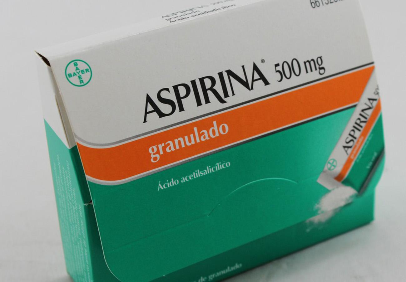 Sanidad retira varios lotes de Aspirina efervescente 400 mg y granulado 500 mg por sellado insuficiente