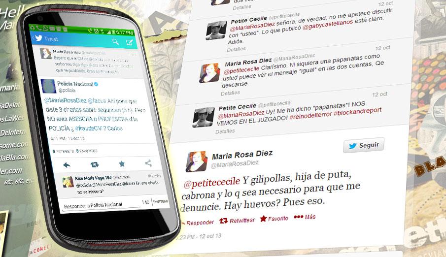 Primero con Luis Pineda y ahora con Eduardo Inda: destapamos los montajes difamatorios de María Rosa Díez
