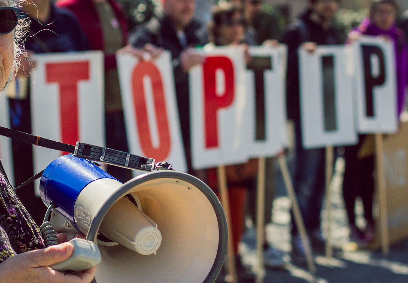 Manifestaciones contra el TTIP en Bristol. | Imagen: flickr.com_wdm (CC BY 2.0).