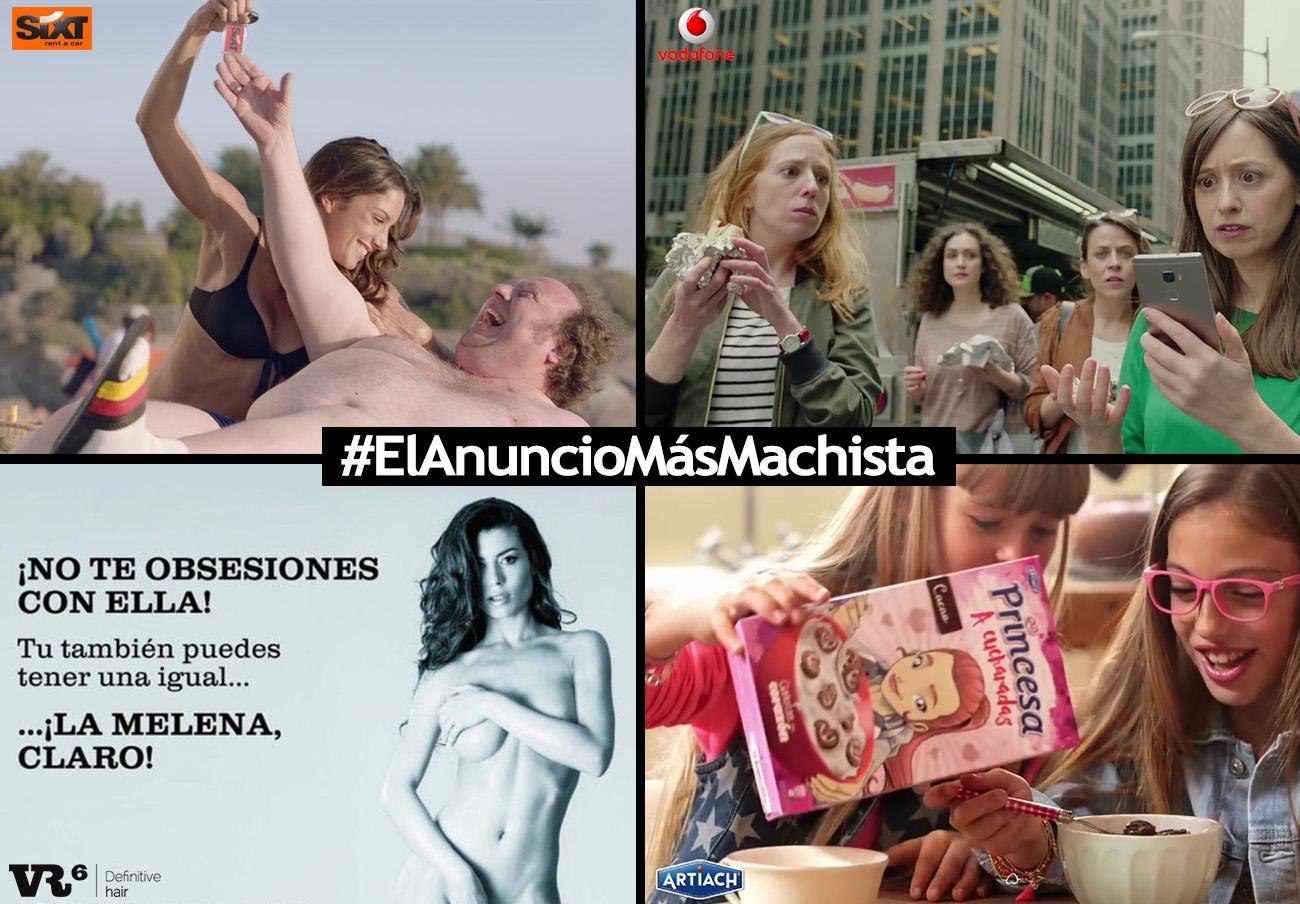Cuatro campañas compiten por ser elegidas #ElAnuncioMásMachista del Año