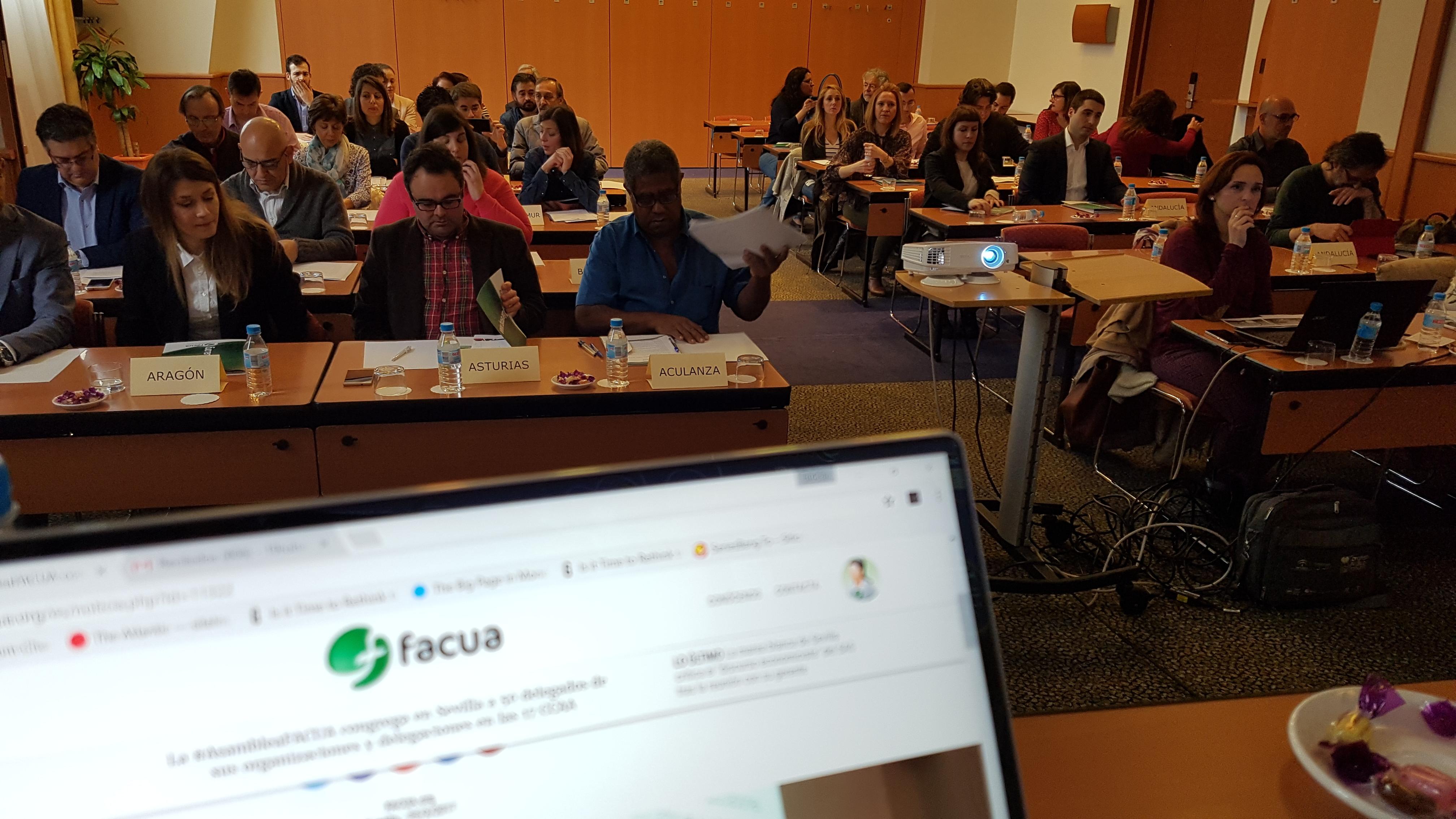 Rubén Sánchez asume la Vicepresidencia de FACUA tras su 11ª Asamblea General